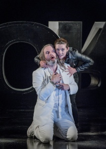 Orfeo Ed Euridice - Christoph Willibald Gluck - Buxton Festival - 13 July 2014 Conductor - Stuart Stratford Director - Stephen Medcalf Designer - Frances O'Connor Lighting Designer - Malcolm Rippeth Choreographer - Paula O'Reilly Orfeo - Michael Chance